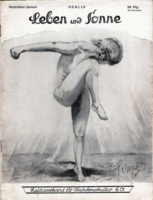 A 1920s nudist magazine.